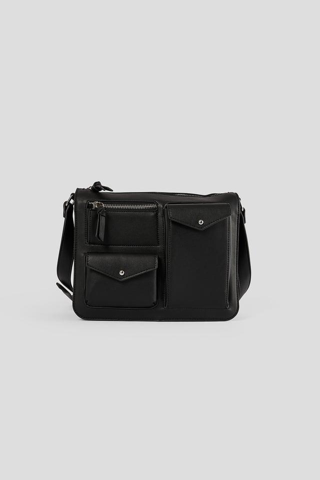 Utility Shoulder Bag Black