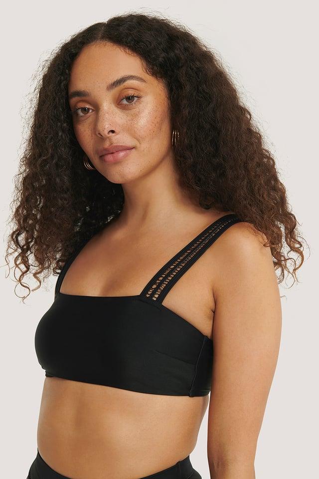 Black Haut De Bikini