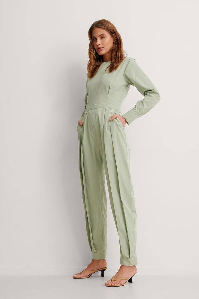 Green Biologique Combinaison Pantalon