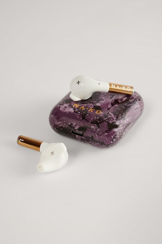 Rich Plum NA-KD Wireless Headphones