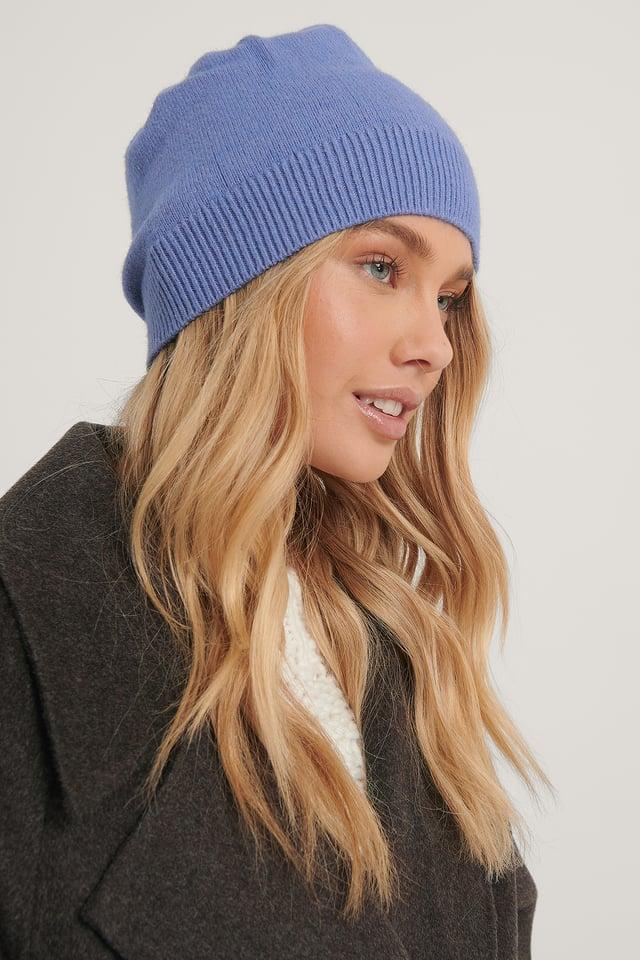 bleached blue Bonnet
