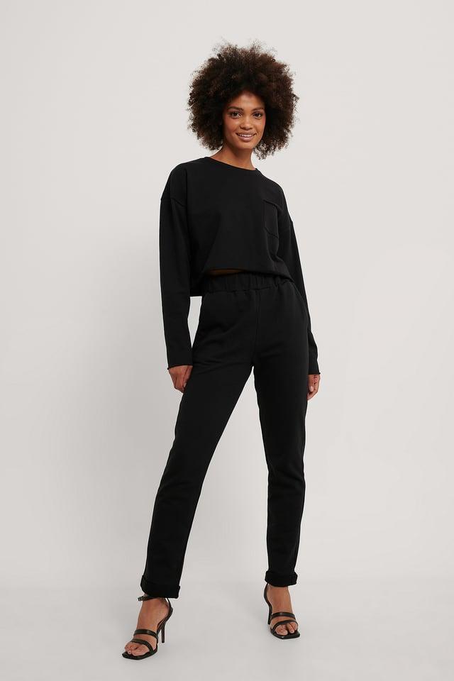 Pantalon De Jogging Black