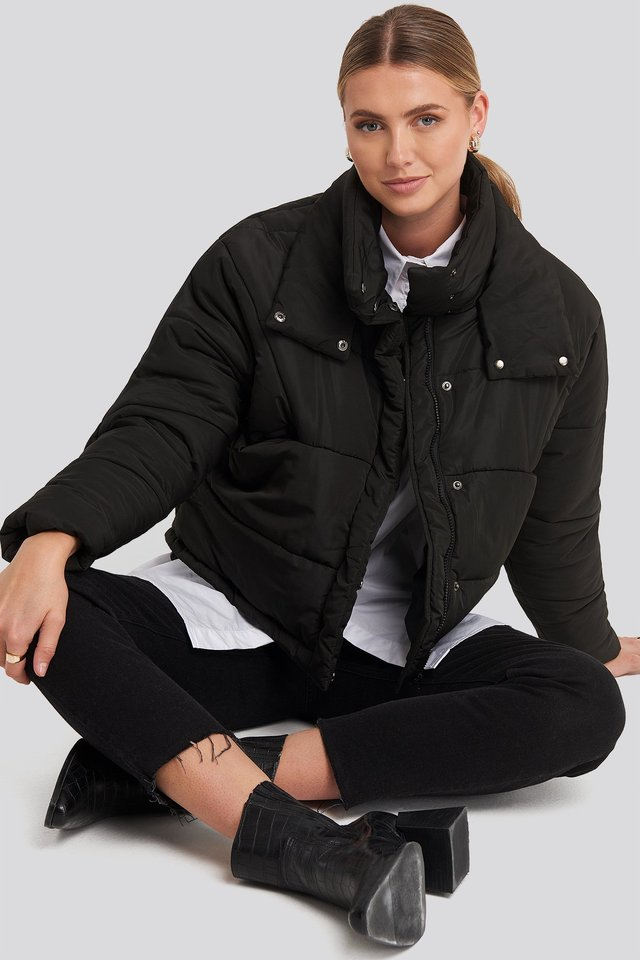 Carro Puff Jacket Black