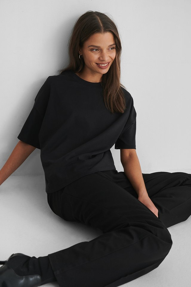 Tee-Shirt Oversize Black