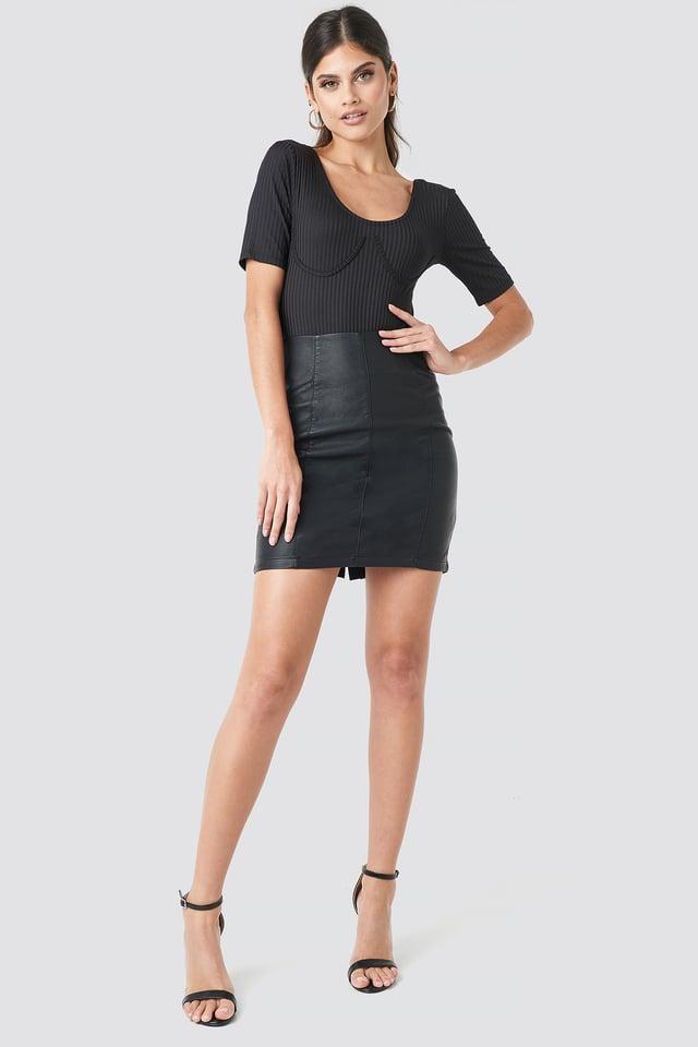 Dove Skirt Black