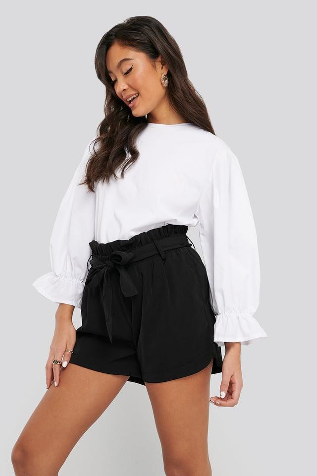 Black Dora Shorts