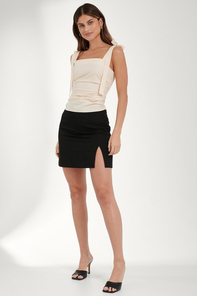 Tie Strap Top Outfit
