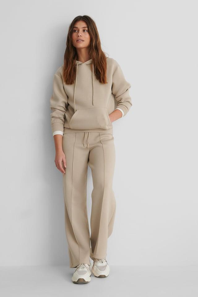 Mango Neosoft Sweater with Mango Neosoft Trousers.