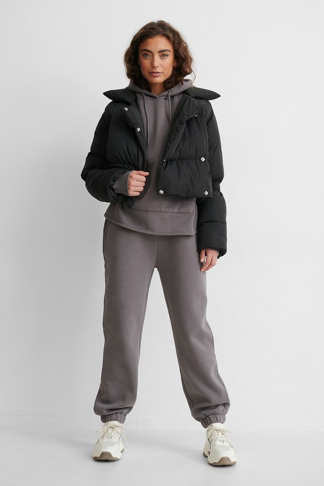 Puffer Jacket Outfit!