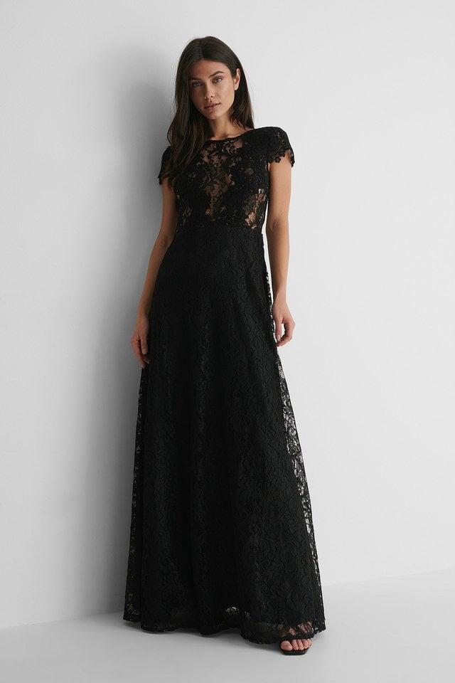 Black Maxi Robe