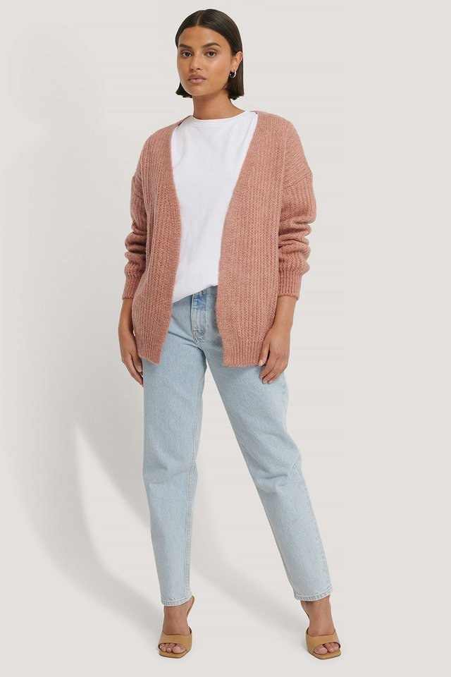 Knitted Cardigan Outfit.