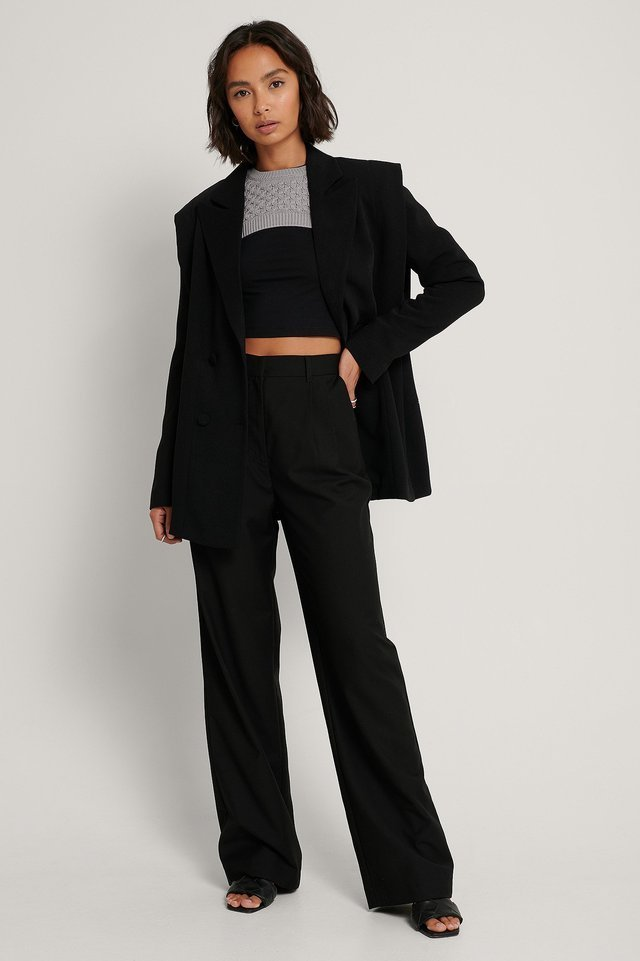 Bolero Knitted Sweater Outfit.
