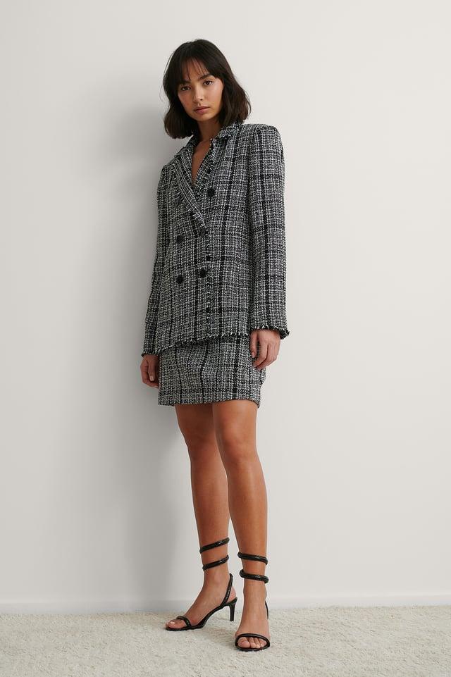 Tweed Blazer Outfit.