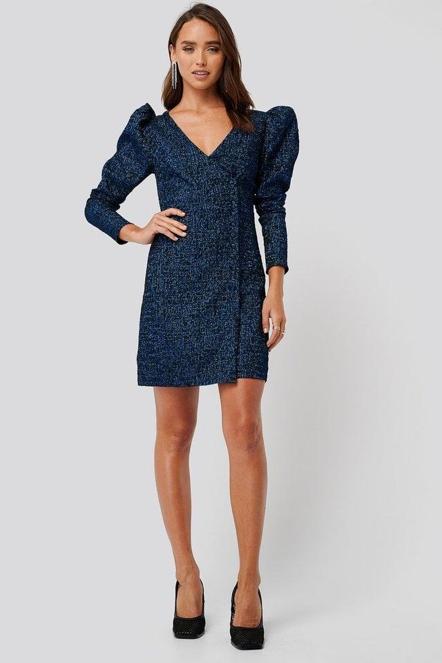 Jacquard Dress Outfit.