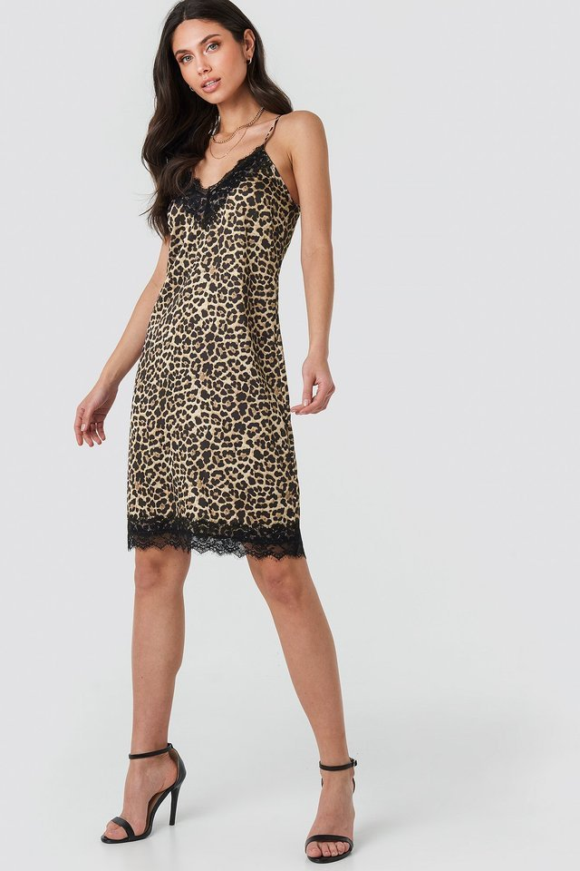 Leo Slip Dress Outfit.