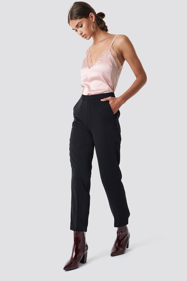 Classic Tank Top and Pant Suit Outfit