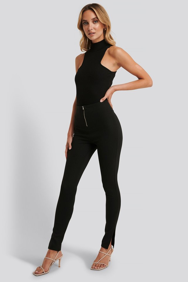 Open Back Rib Body Outfit.