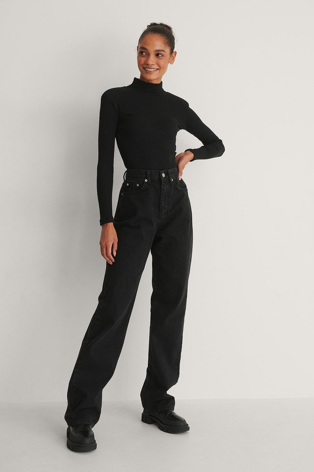 Turtleneck Top Outfit.