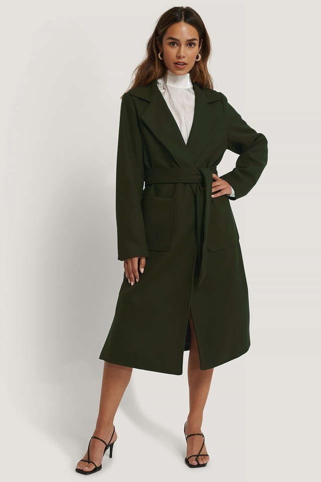Tilda Coat Green Outfit.