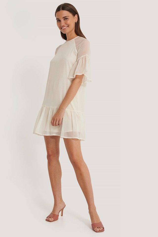Cream Robe Mini