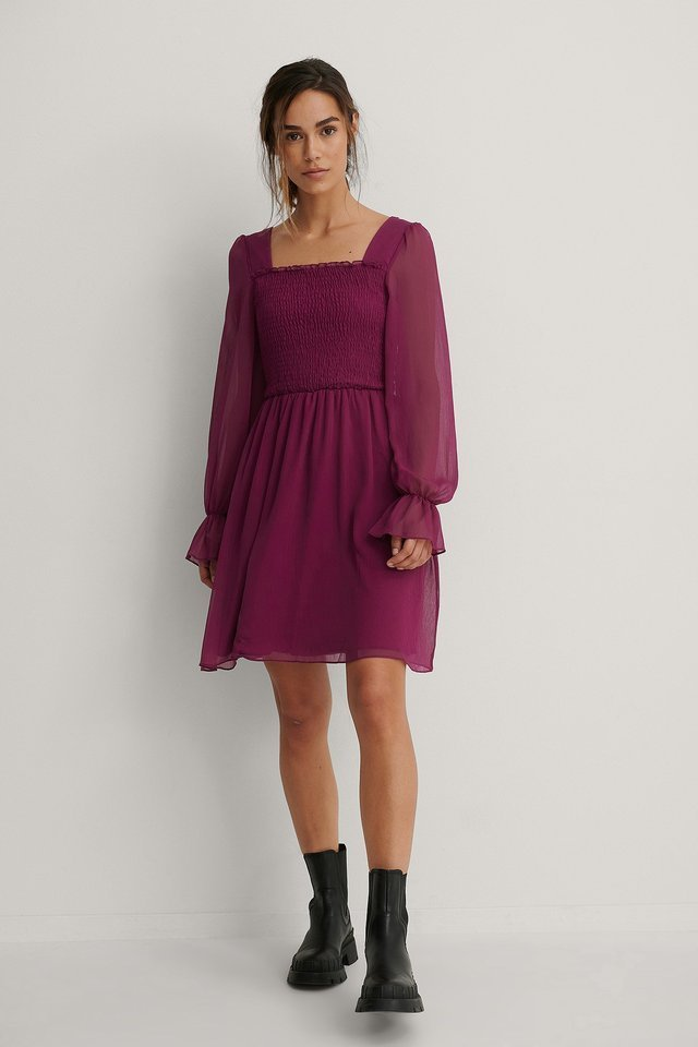 Giped Mini Dress Outfit.