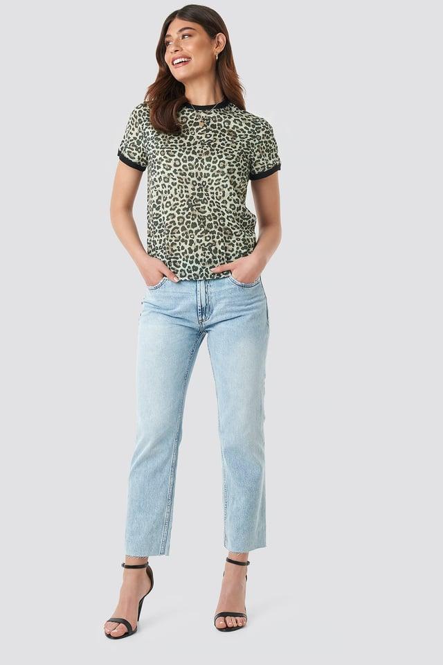 Leopard Printed Tee