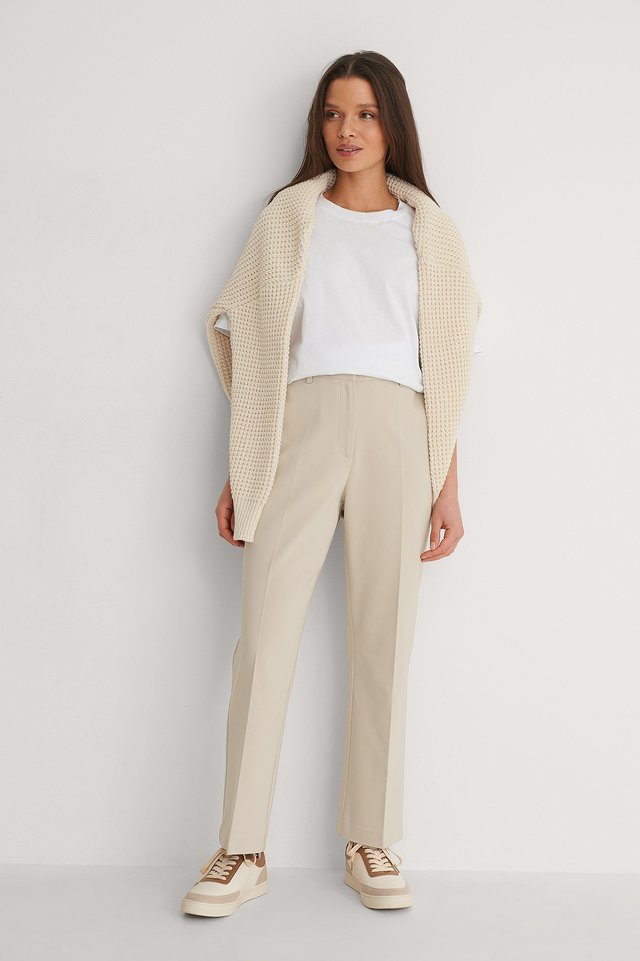 Kicked Flared Pants Outfit