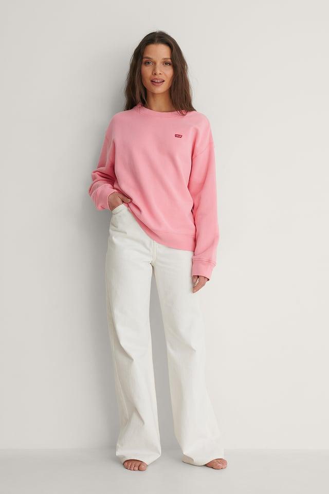 Dusty Dark Pink Pull Basique