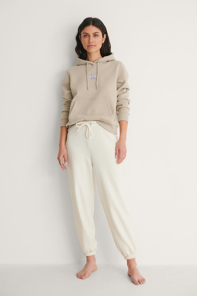 Calvin Klein Monogram Logo Hoodie Outfit