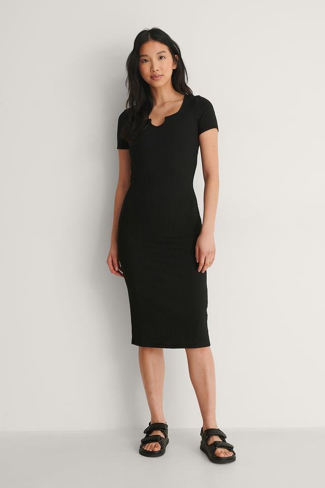 Trendyol Carmen Midi Dress Outfit