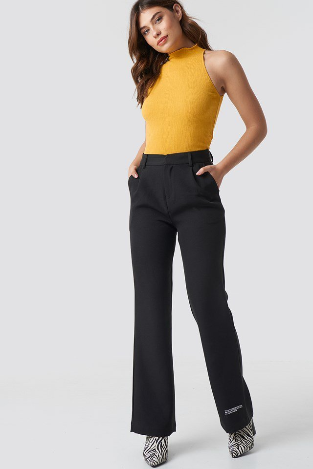 Sleeveless Babylock Top Outfit