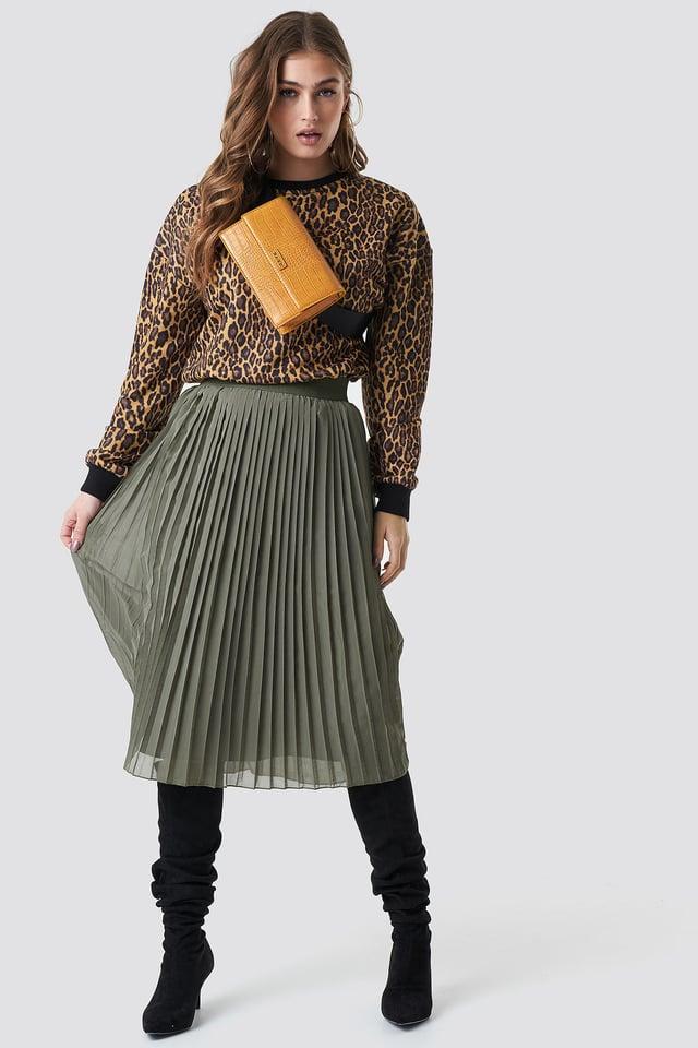 Leopard Leopard Oversize Sweatshirt