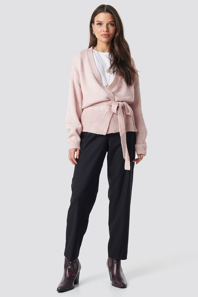 Danza Cardigan Pink Outfit