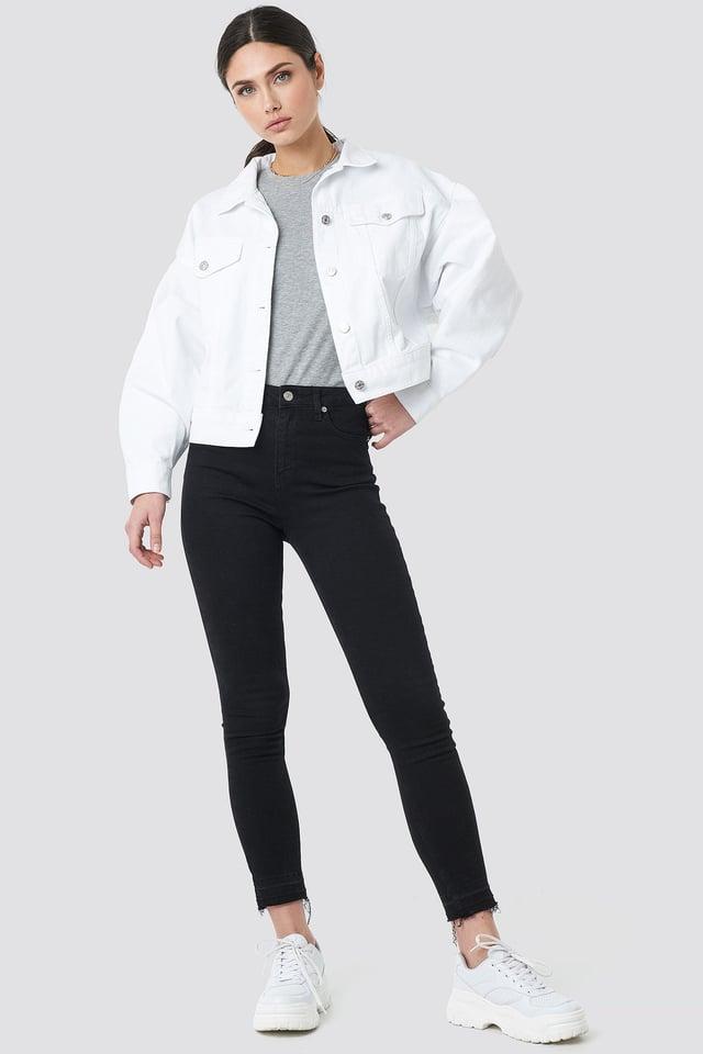 80's Trucker Denim Jacket Outfit