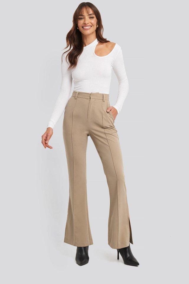 Seamline Suit Pants Outfit