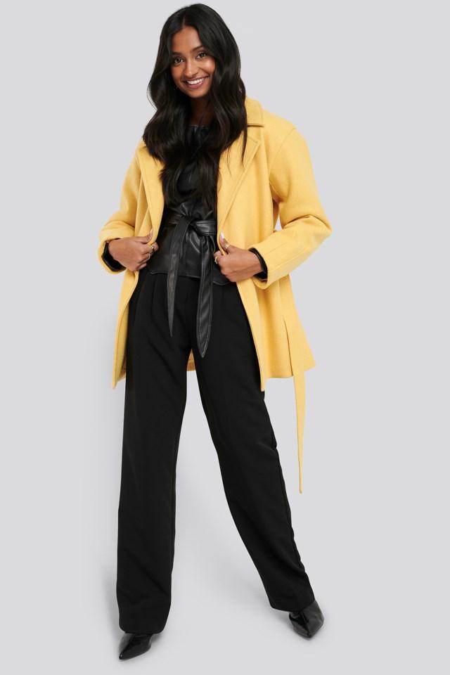 Short Belted Coat