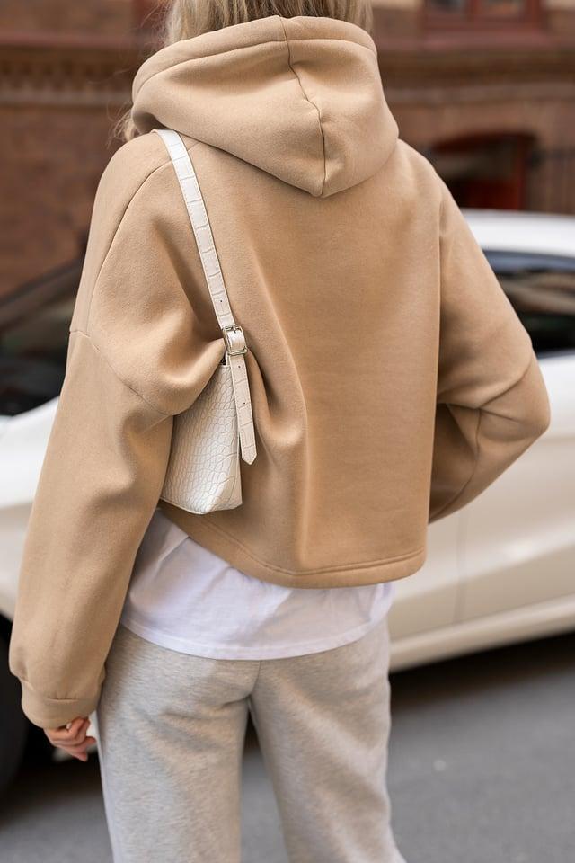 Croc Baguette Bag Loungewear outfit