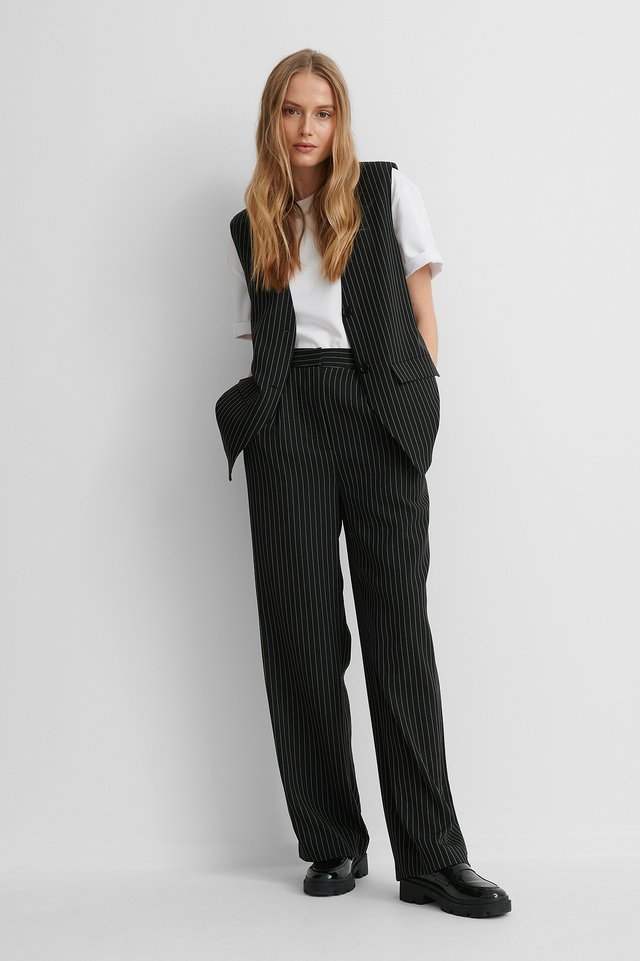 Pantalon De Costume Black
