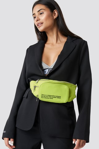 Yellow Lime The Classy Fanny Pack