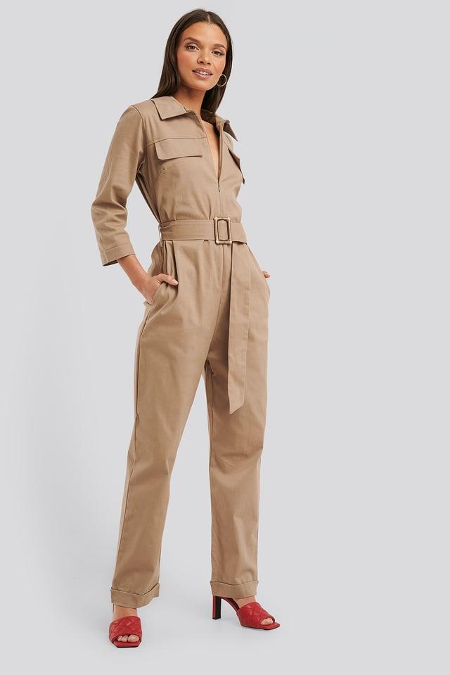 Combinaison Pantalon Mink