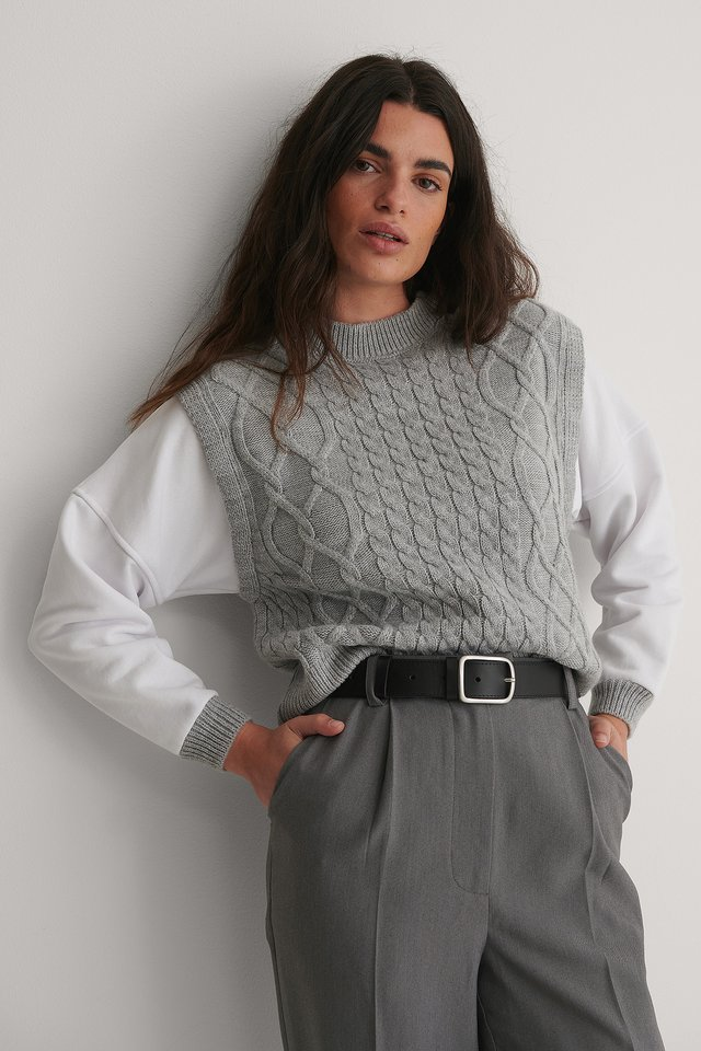 Pull Tricot Gray