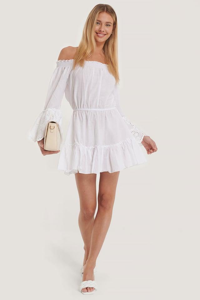Robe De Plage White