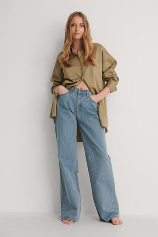 Blue Jean Taille Haute