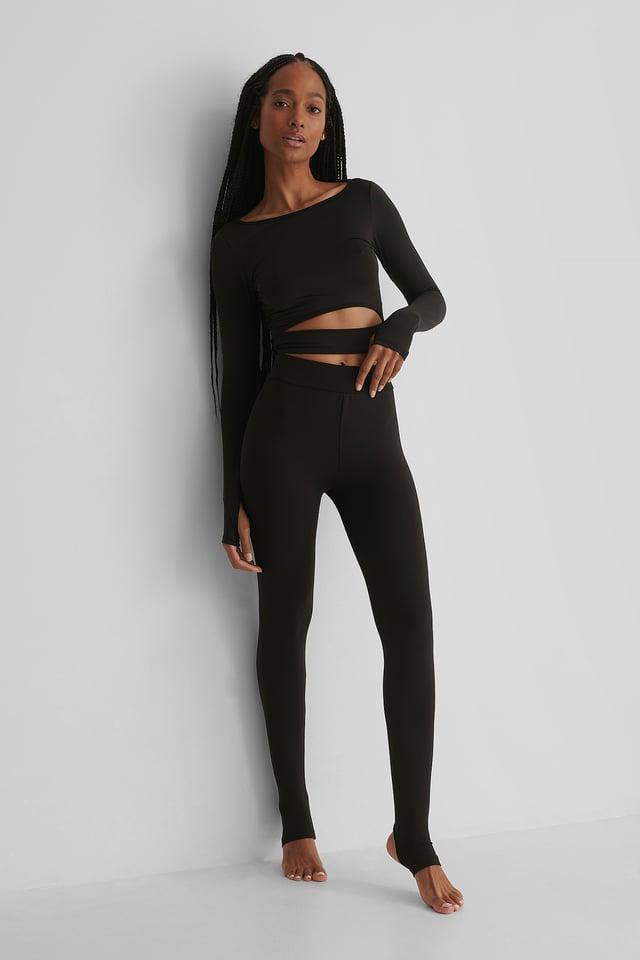 Black Collants De Sport