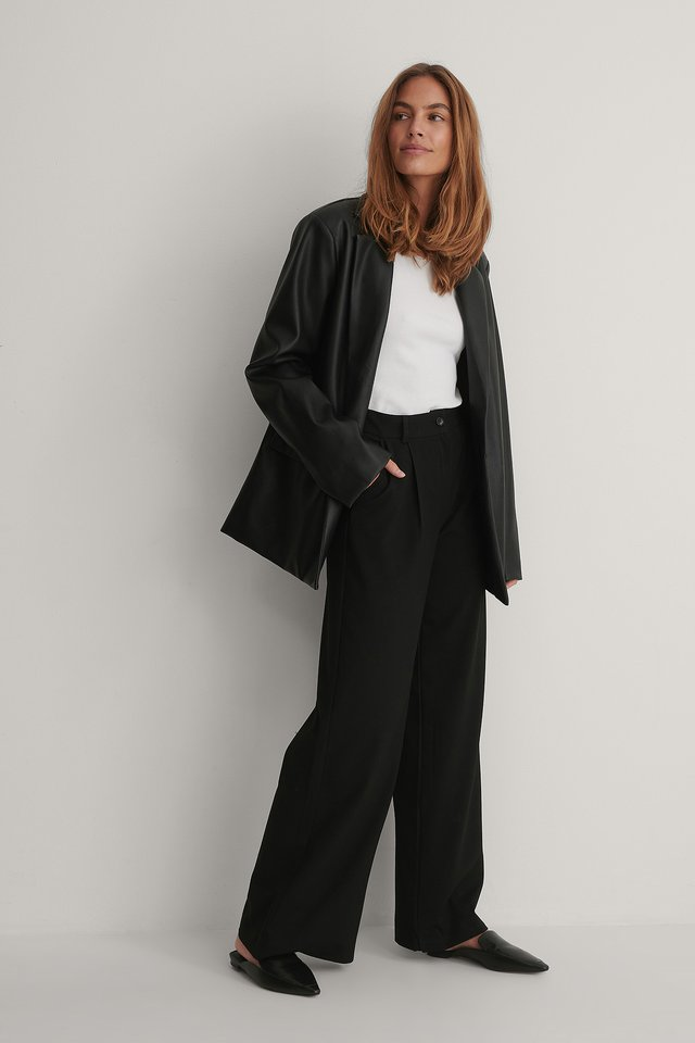 Pantalon Basique Black
