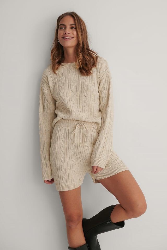 Milla Knitted Set Stone