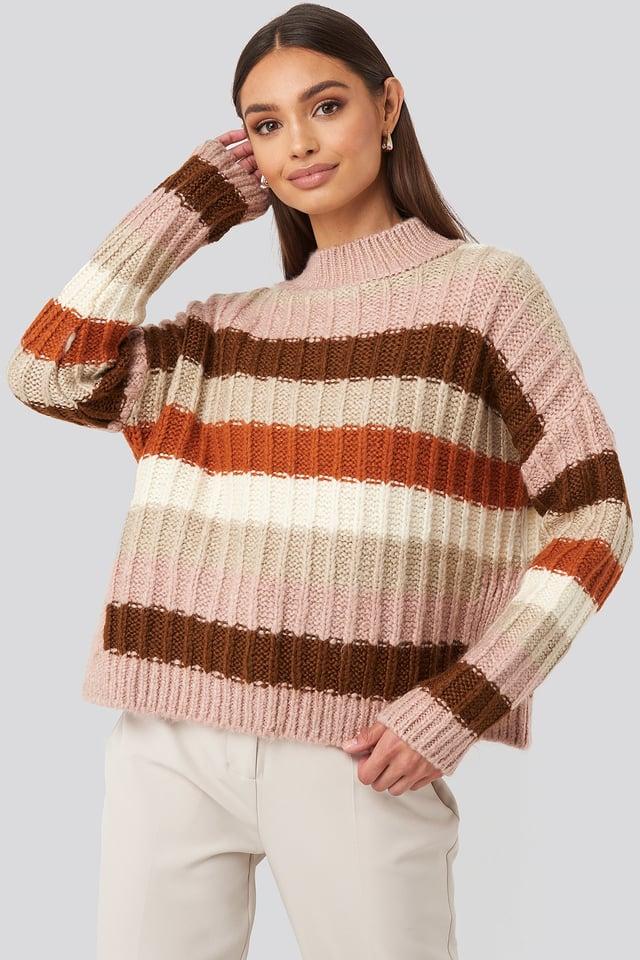 Striped Knitwear Sweater Multicolor