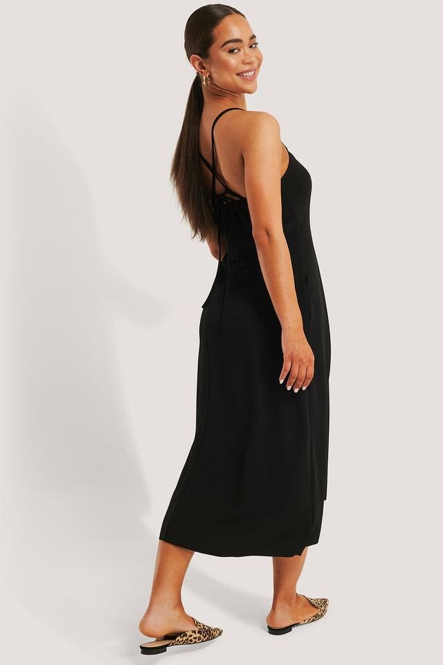 Black Robe Mi-Longue